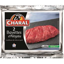 2 bavettes d'aloyau***, viande bovine française