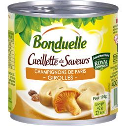 Cueillette de saveurs champignons de Paris & Girolle...