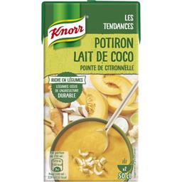 Potiron lait de coco pointe de citronnelle
