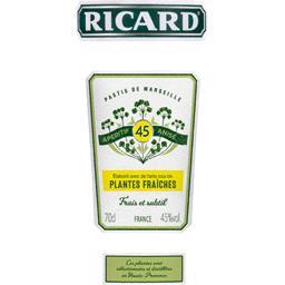 Apéritif anisé Plantes Fraîches
