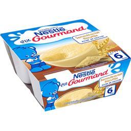 P'tit Gourmand - Semoule au lait biscuitée, 6+ mois