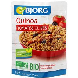 Bjorg Quinoa tomates olives BIO