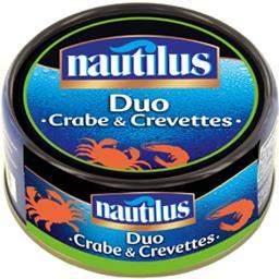 Duo crabe & crevettes
