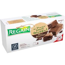 Regain Mini Brownies sans gluten les 8 biscuits de 30 g