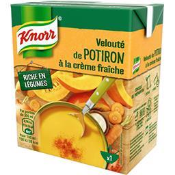 Knorr Soupe Velouté de potiron à la crème fraîche la brique de 30 cl