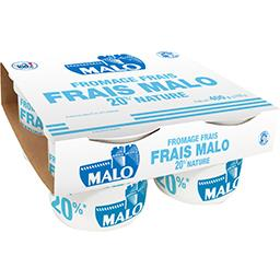 Fromage frais nature 20% MG