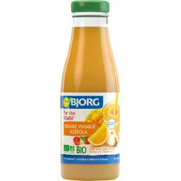 Pur jus Vitalité orange mangue acérola BIO