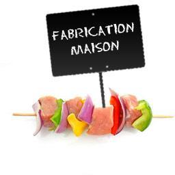 Brochettes de CANARD et poivrons, FABRICATION MAISON