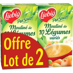 Liebig Pur'Soup - Mouliné de 10 légumes variés