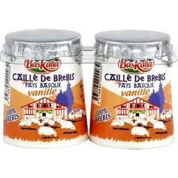 Caillé de brebis vanille