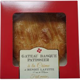 Miguelgorry Gâteau basque pâtissier à la crème de Benoit Lafitte le gâteau de 600 g