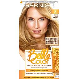 Belle Color, blond doré naturel, coloration permanen...
