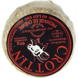 Crottin de chèvre au lait cru 23% de mg