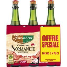 Cidre de Normandie doux