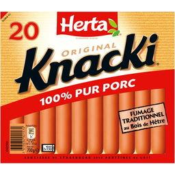 Knacki - Saucisses 100% pur porc