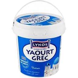Yaourt grec nature