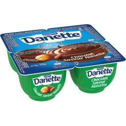 Danette - Crème dessert saveur chocolat-noisette