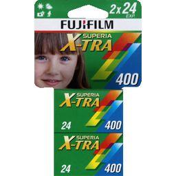 Film Superia X-TRA 400 ISO 135 24 poses Carded