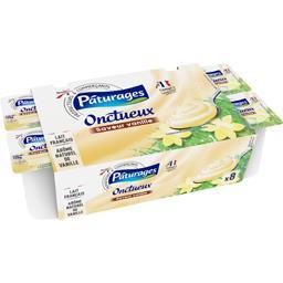 Yaourts brassés Onctueux arôme vanille
