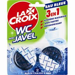 La Croix Eau Bleue - Blocs avec javel Eau Blue