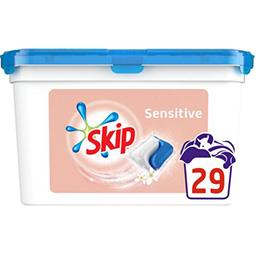 Skip Capsules double action Sensitive la boite de 29 capsules - 698 g