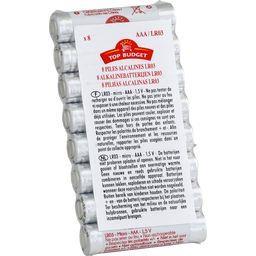 Piles alcalines AAA/LR03