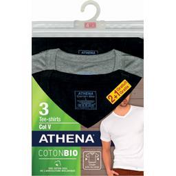 Tee-shirts col V coton BIO T XL