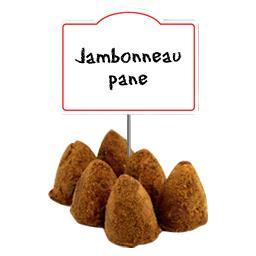 Jambonneau marmite pané