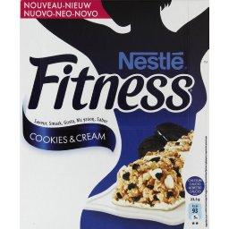 Fitness - Barre de céréales Cookies & Cream