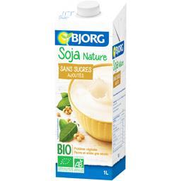 Boisson soja nature sans sucres ajoutés BIO