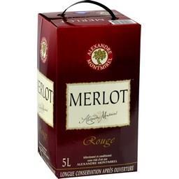 Vin de pays Merlot, vin rouge