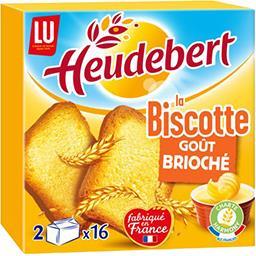 LU Heudebert La Biscotte goût brioché