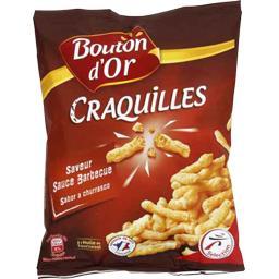 Biscuits apéritif Craquilles saveur sauce barbecue