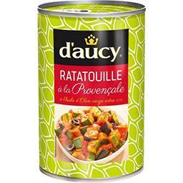 Ratatouille à la provençale à l'huile d'olive vierge extra