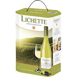 Vin de Pays Lichette, vin blanc