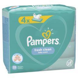 Pampers Lingettes bébé fresh clean