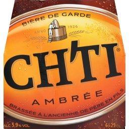 Bière de garde ambrée brassée à l'ancienne