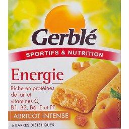 Barres diététiques abricot intense