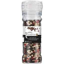 Mélange de poivres gourmands et baies roses