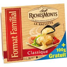 La raclette classique, format familial