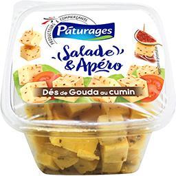 Pâturages Dès de gouda Salade & Apéro au cumin la boite de 150 g