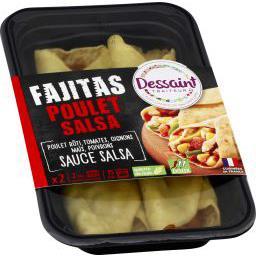 Fajitas poulet Salsa doux