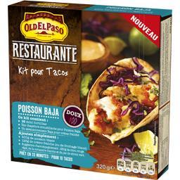 Restaurante - Kit pour Tacos poisson Baja doux
