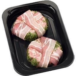 Pavés porc et bœuf 'Trappeur' goût fumé & lard