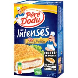 Les Intenses - Escalope cordon bleu dinde emmental