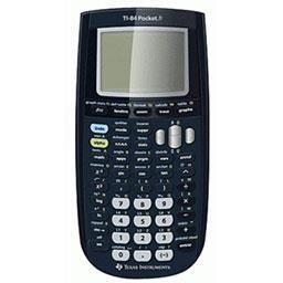 Calculatrice TI84 pocket