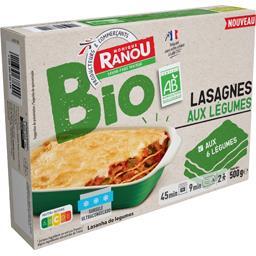 Lasagne aux légumes BIO