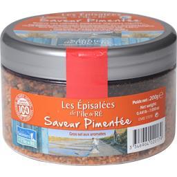 Sauniers Ile de Ré Les Episalées de l'Île de Ré saveur pimentée le pot de 200 g