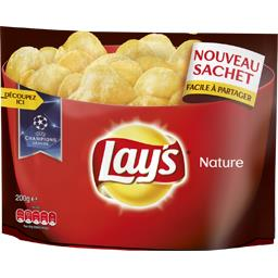 Lay's Chips nature le paquet de 200 g