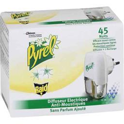 Diffuseur électrique anti-moustiques sans parfum ajo...